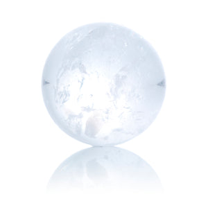 Mountain Crystal - 14mm Polished - Sparkling Jewels