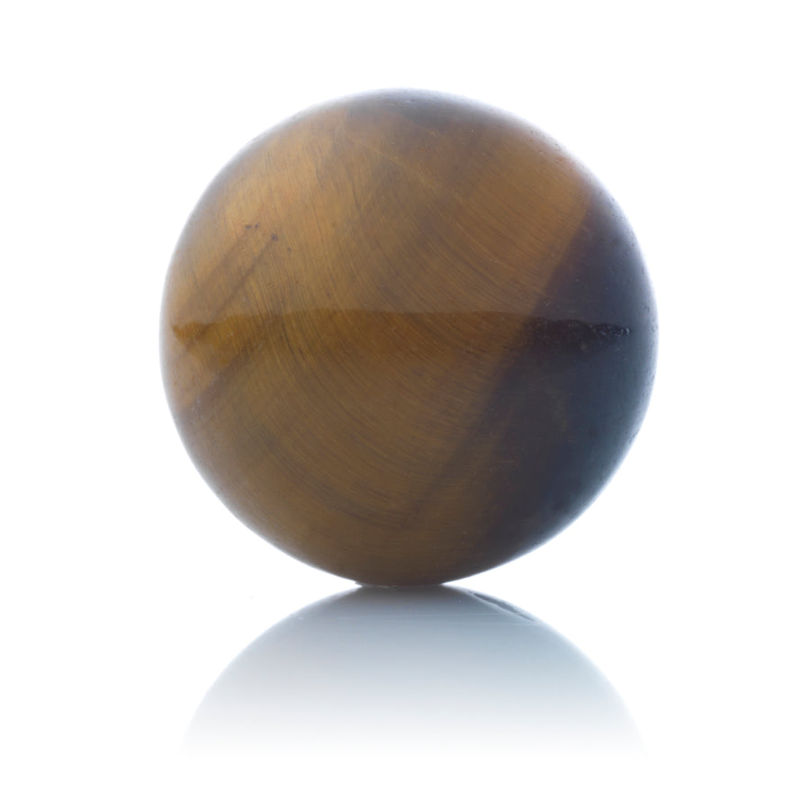 Tiger Eye - 14mm Polished - Sparkling Jewels