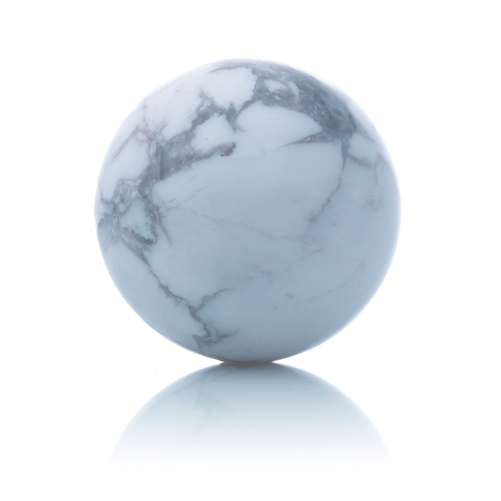Howlite - 20mm Polished - Sparkling Jewels
