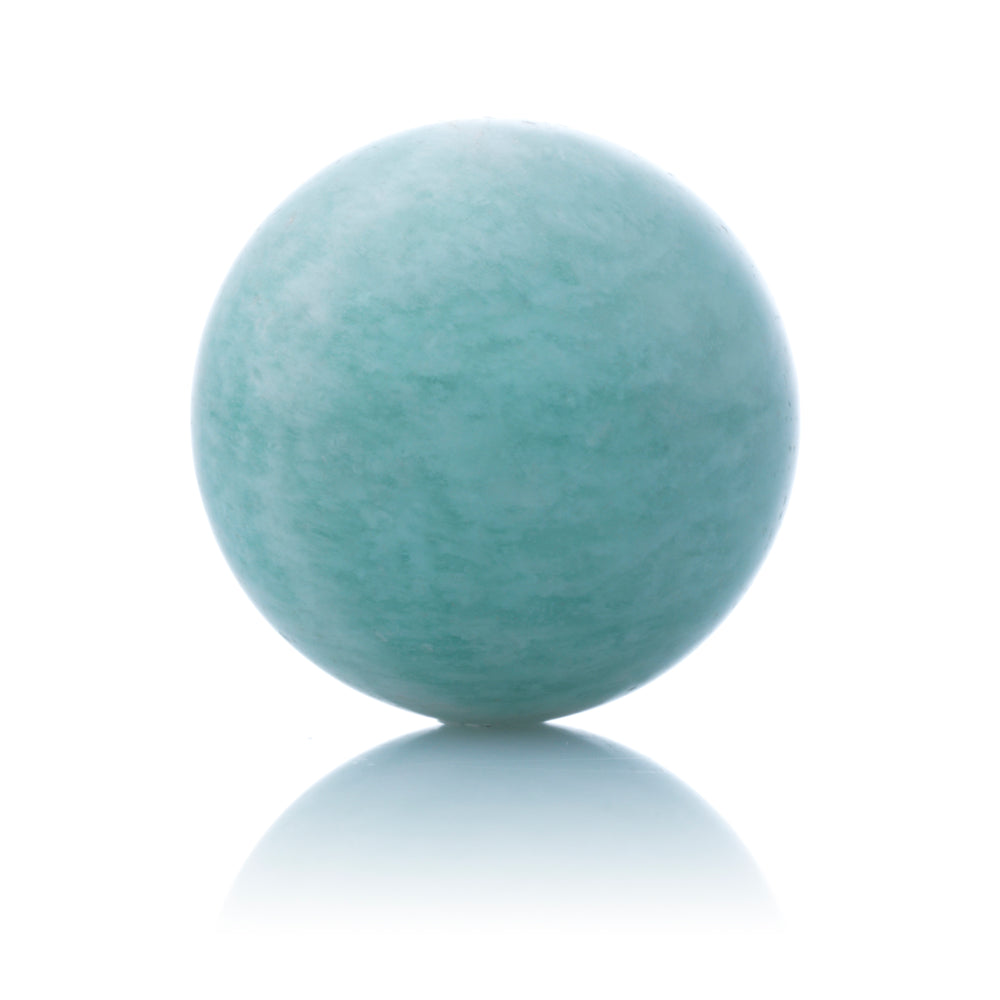Amazonite - 14MM Polished - Sparkling Jewels