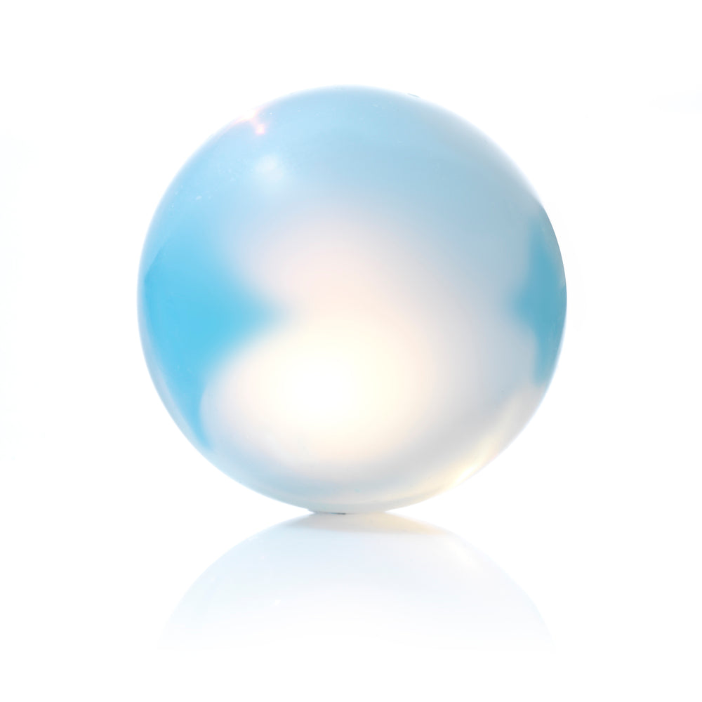 Opalite - 14MM Polished - Sparkling Jewels