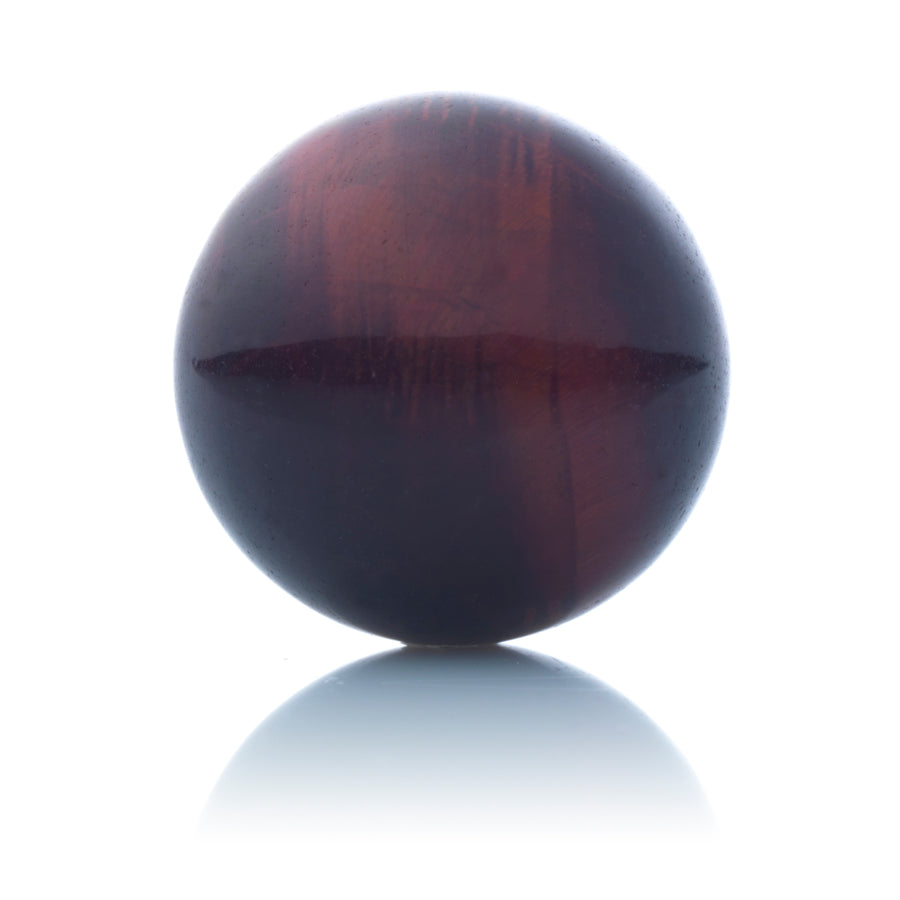 Red Tiger Eye - 14mm Polished - Sparkling Jewels