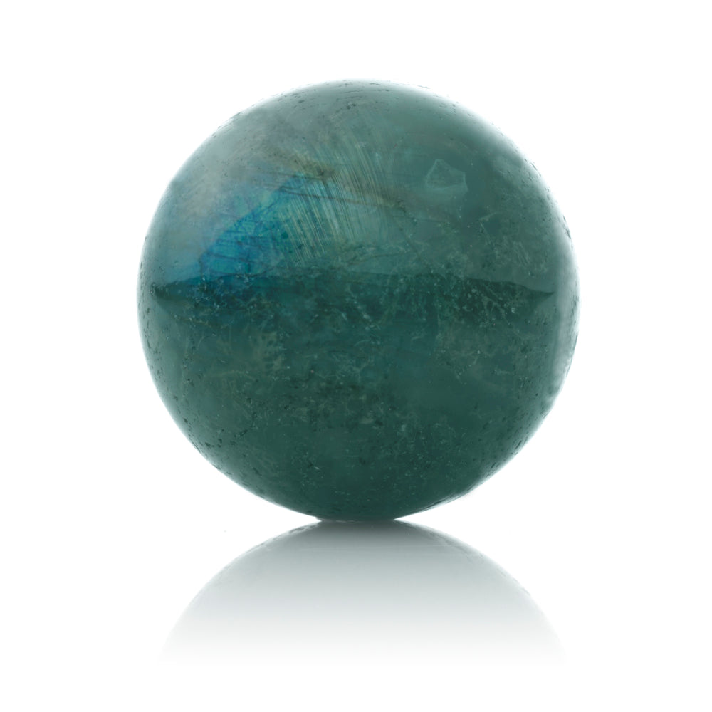 Labradorite - 14MM Polished - Sparkling Jewels