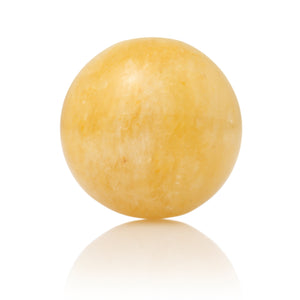 Yellow Jade - 14mm Polished - Sparkling Jewels