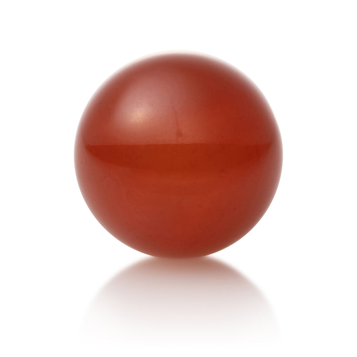 Red Agate - 14mm polished