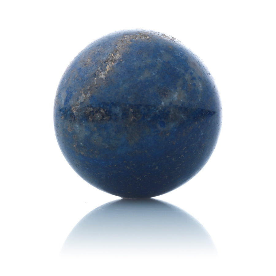 Lapis Lazuli - 14mm Polished - Sparkling Jewels