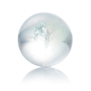 Aqua Aura White - 14mm Polished - Sparkling Jewels