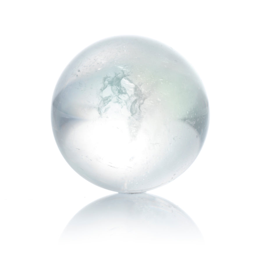 Aqua Aura White - 20mm Polished