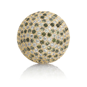 Gold - Swarovski Crystals set - 20mm