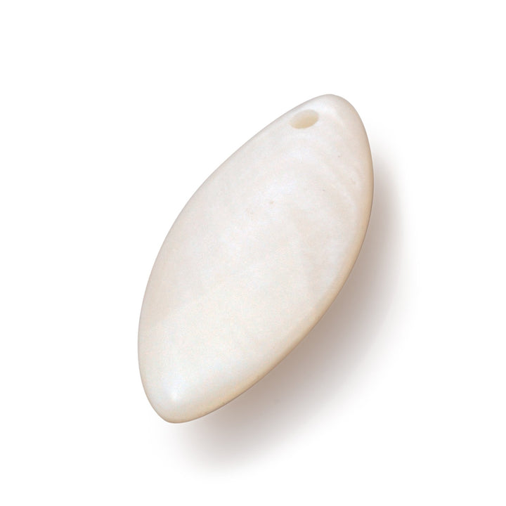 Leaf Polished Pearl • Medium