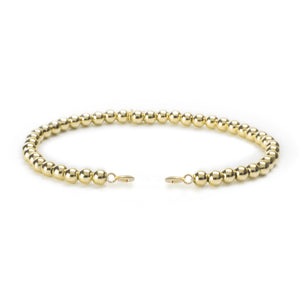Bracelet with Clasps - Gold Filled 4mm