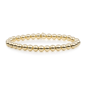 Gold Filled Saturn Large - 6MM - Sparkling Jewels
