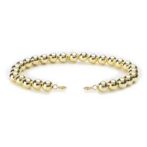 Gold Filled Orbit Bracelet with clasps - 6MM - Sparkling Jewels