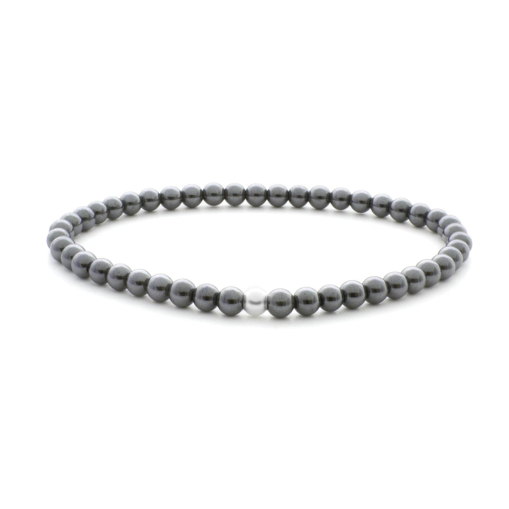 Hematite Saturn Small - 4MM - Sparkling Jewels