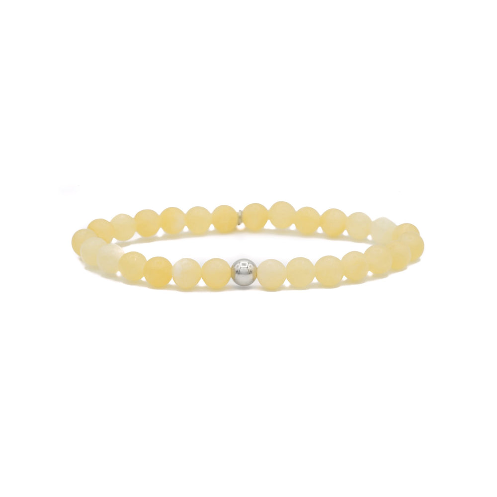 Yellow Calcite Saturn small armband - Sparkling Jewels