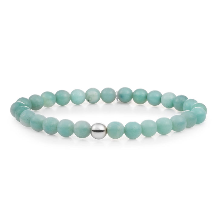 Amazonite Saturn Large 6MM
