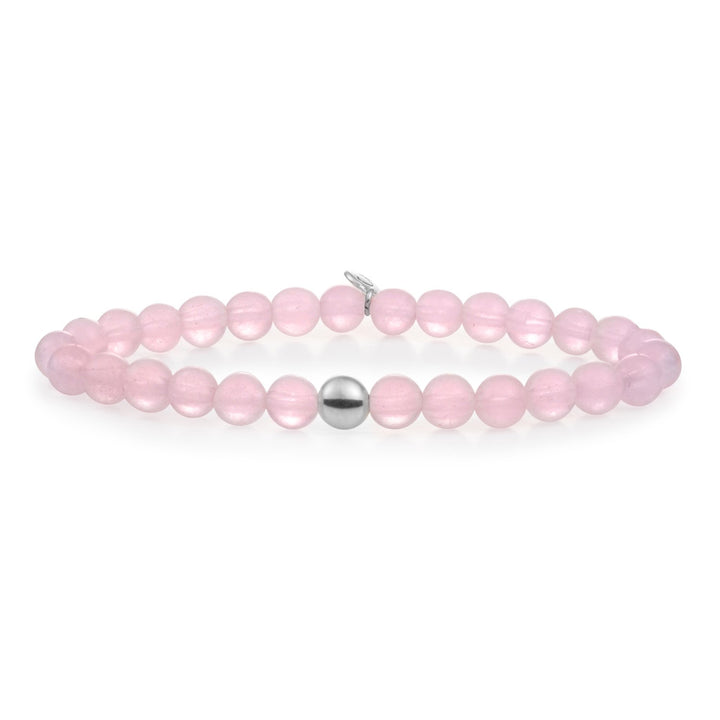 Rose Quartz Saturn Large 6MM - Sparkling Jewels