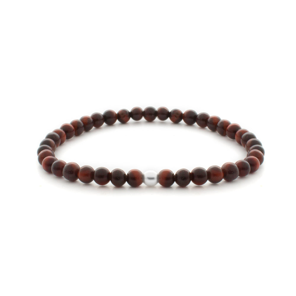Red Tiger Eye Saturn Small 4mm