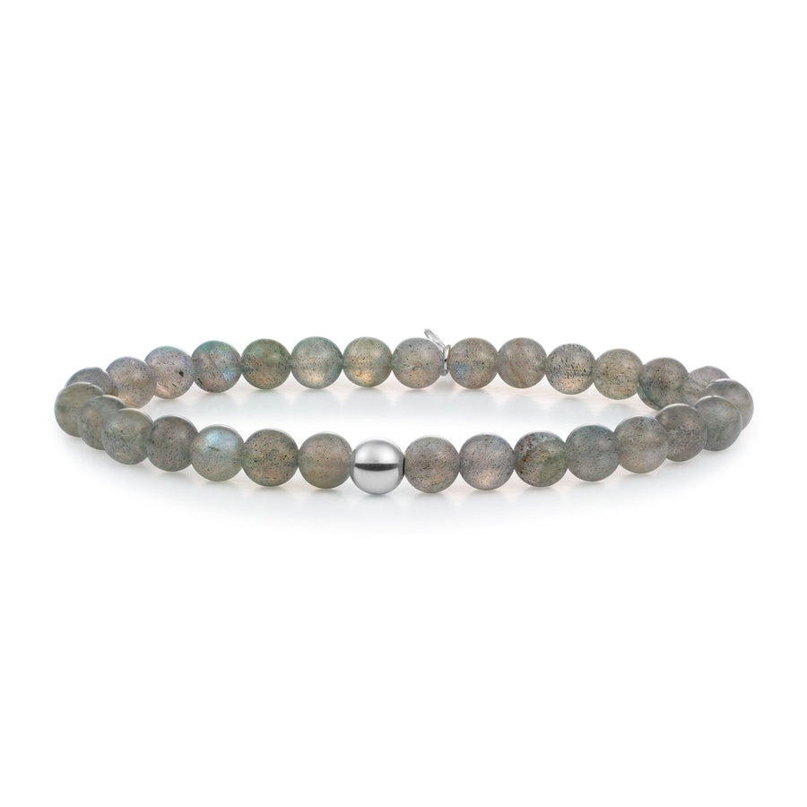 Labradorite Gemstone Bracelet 6MM