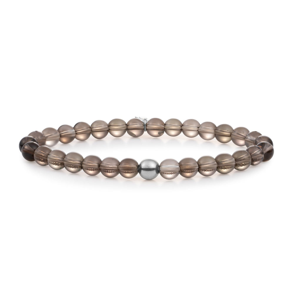 Smoky Quartz Saturn large armband