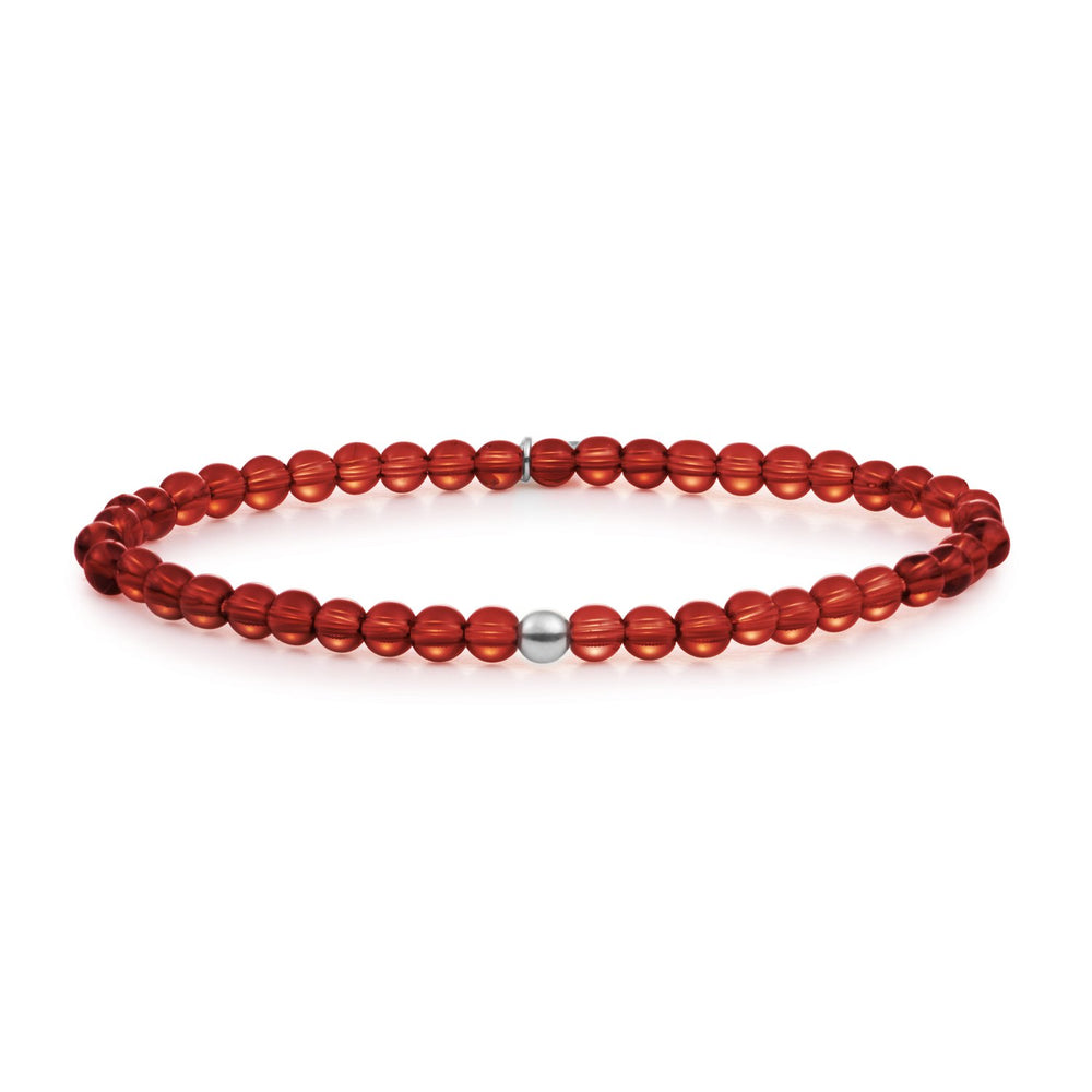 Red Agate Saturn small armband