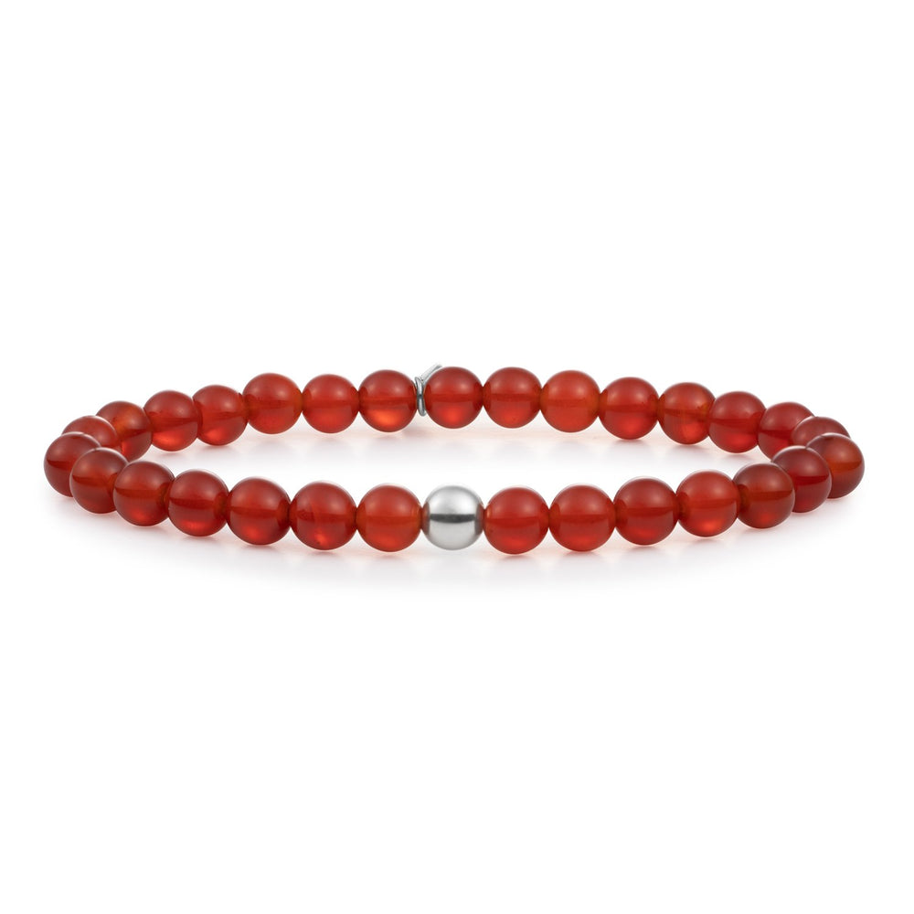 Red Agate Saturn large armband
