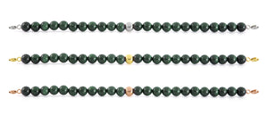 Goldstone Green Bracelet with Clasps