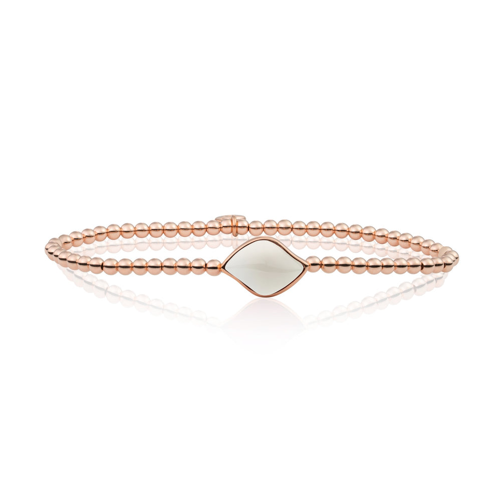 Mother of Pearl Blossom armband
