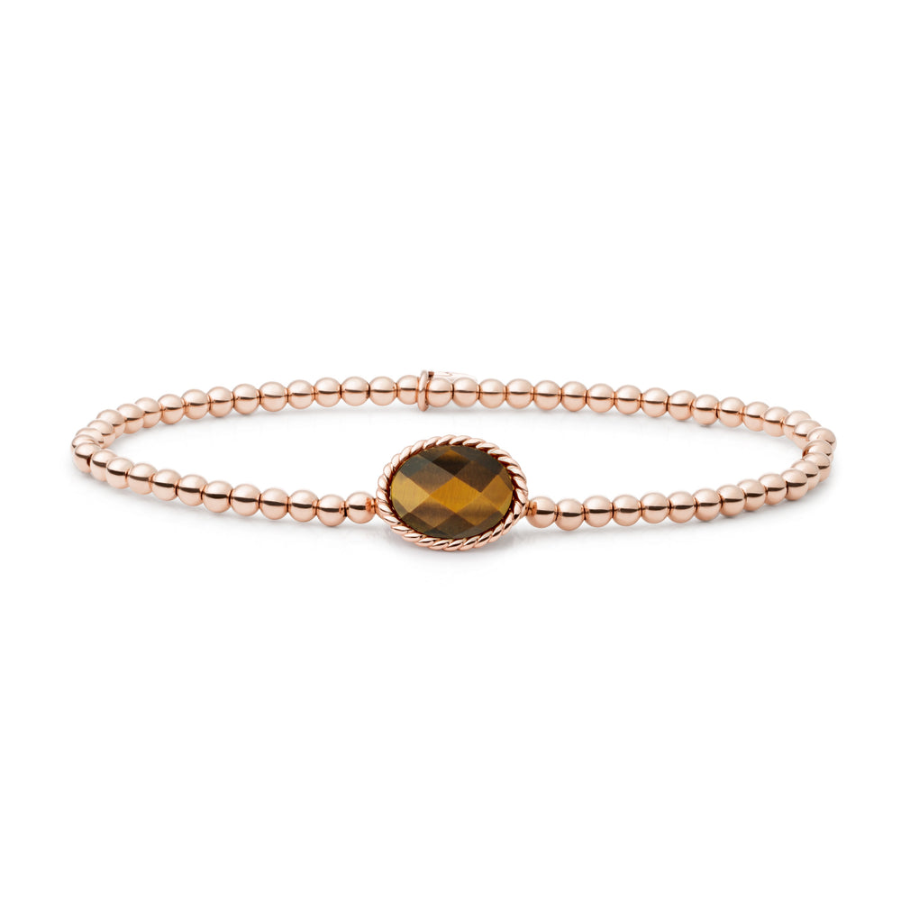 Tiger Eye Twist Armband