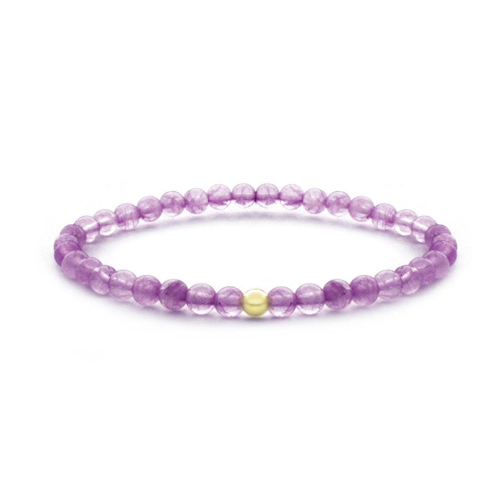 Amethyst Saturn small armband - Sparkling Jewels
