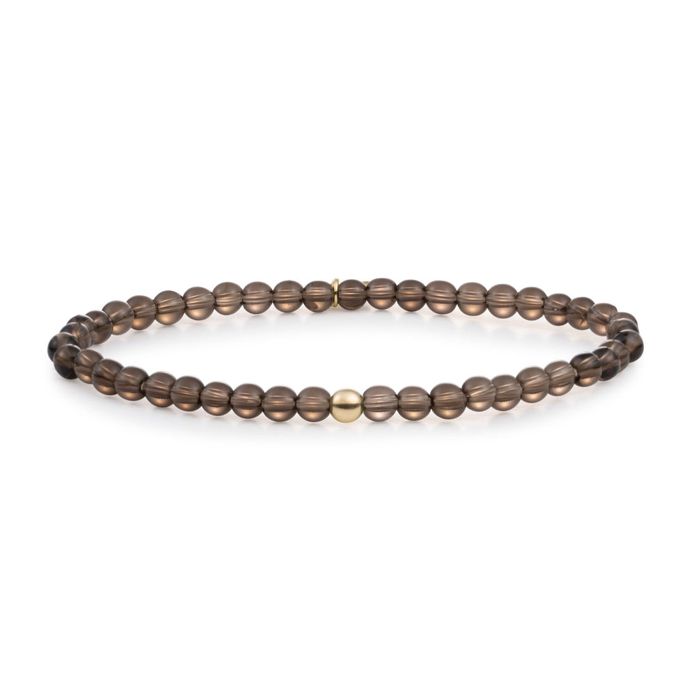Smoky Quartz Saturn small armband