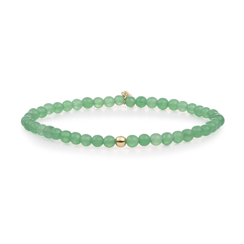 Green Aventurine Saturn small armband