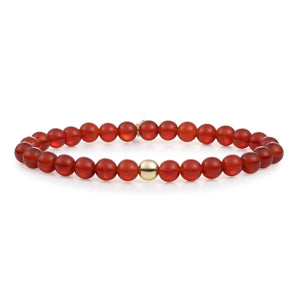 Red Agate armbandenset