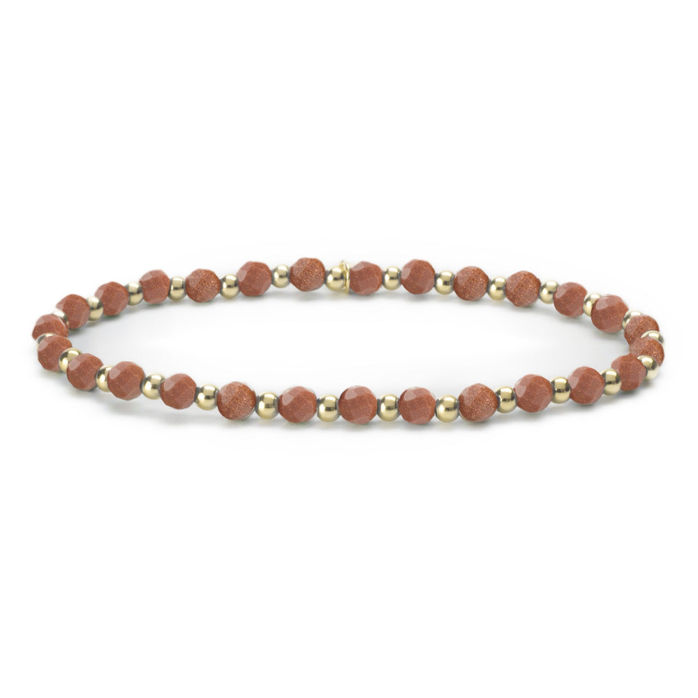 Goldstone Brown Interstellar armband - Sparkling Jewels