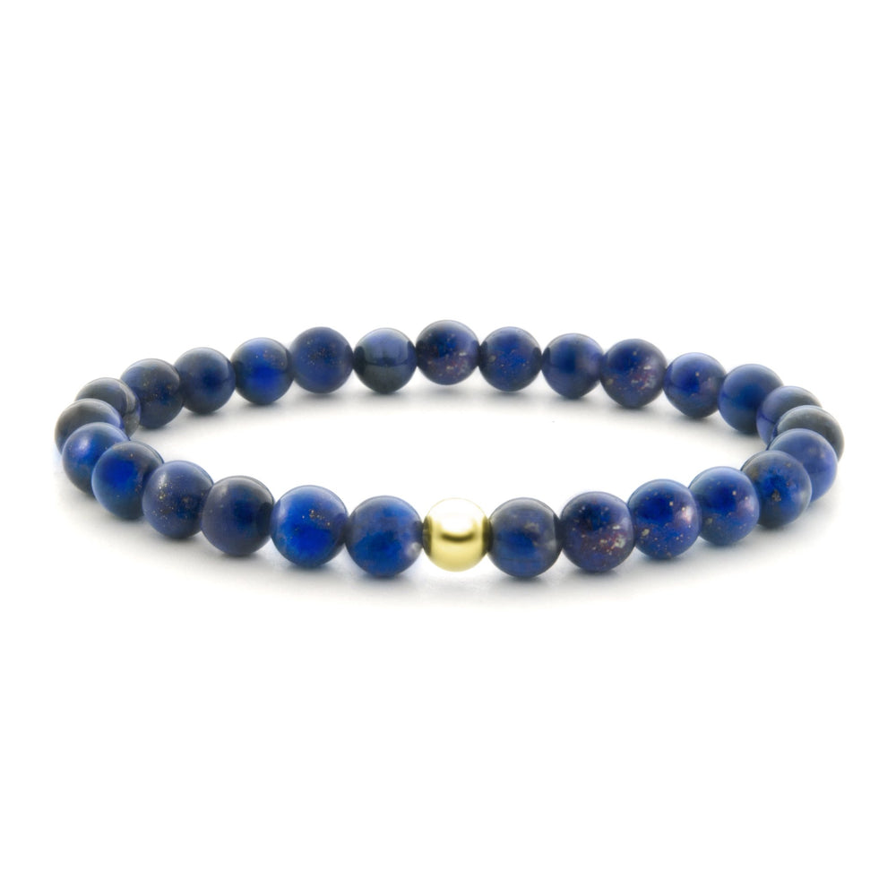 Lapis Lazulli Saturn Large 6MM - Sparkling Jewels