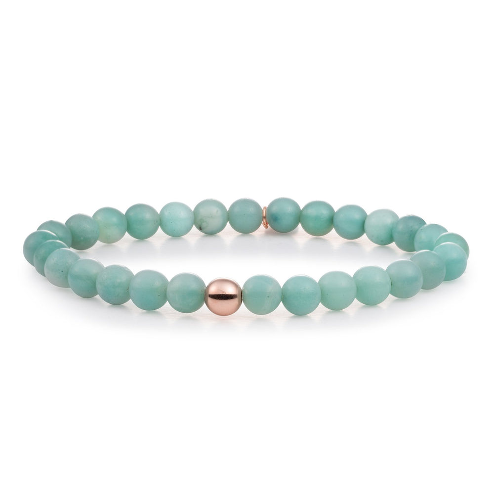 Amazonite Saturn large armband