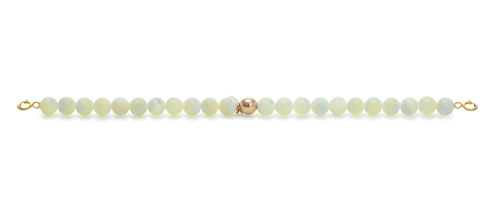 Pearl Orbit bracelets with clasps - 6MM - Sparkling Jewels