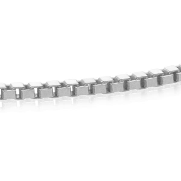 Square Box Chain - Zilver