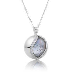The Core - Crystal Polished, 14mm pendant - Sparkling Jewels