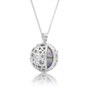 SP15 - CZ Polished, 20mm pendant
