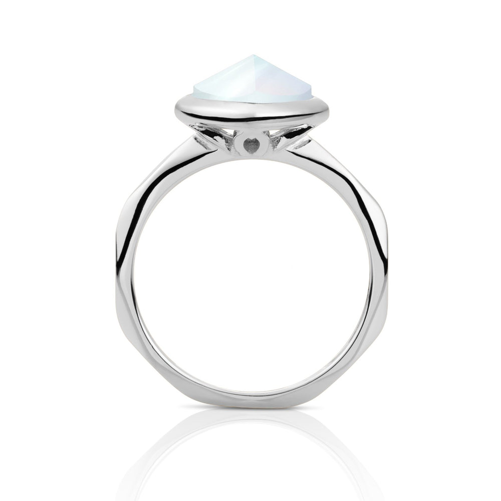 Edge Ring Opalite - Zilver