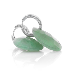 Green Aventurine earring set