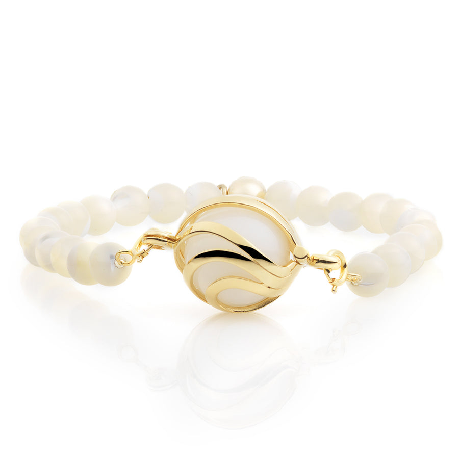 Mother of Pearl bracelet set
