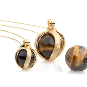 Tiger Eye pendant set