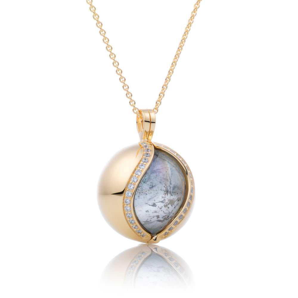 The Core - Crystal gepolijst, 14mm pendant - Sparkling Jewels