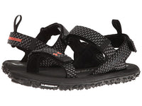 detailed look 51e1b 31665 Under Armour, 1293328-001, UA Fat Tire Sandal, BLK/GWO/PXF
