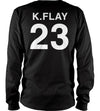 Flayzer Beams Long Sleeve Tee (Black)