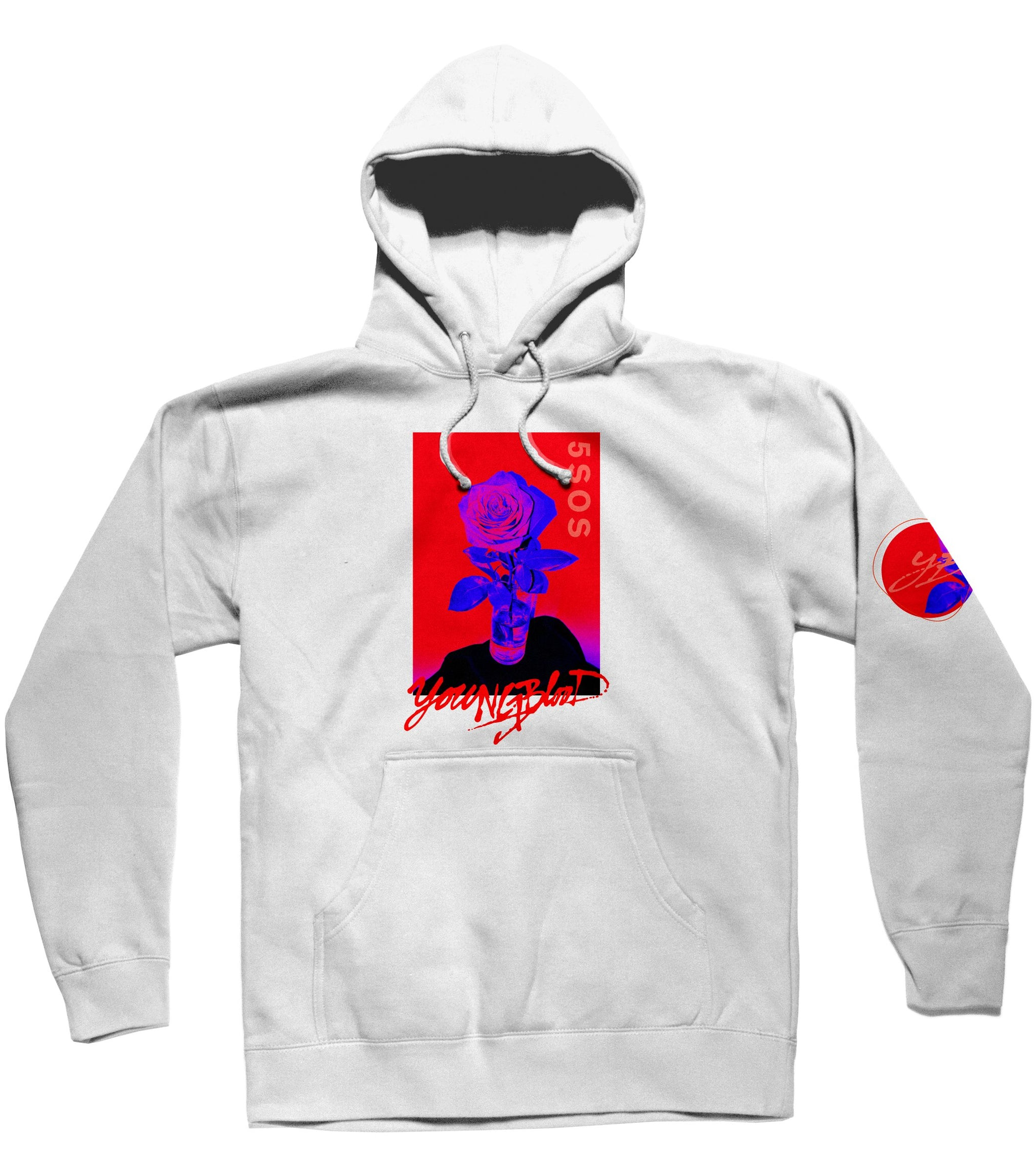 a42096c97f5e White Youngblood Hoodie - Wallflower Merchandise