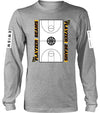 Flayzer Beams Long Sleeve Tee (Grey)
