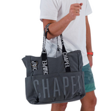Grey X Beach Bag